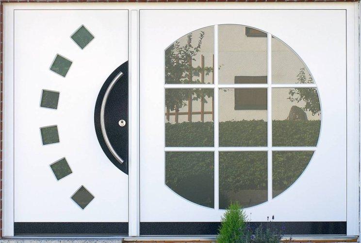 Haustüren modernes Design - Schreinerei Wolf