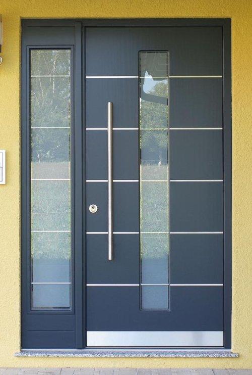 Haustüren modern  Haustüren modernes Design - Schreinerei Wolf